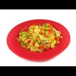Рецепт: Овощное рагу с яйцами