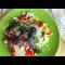 Фото Салат с индейкой с йогуртово-базиликовой заправкой