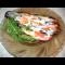 Фото Баклажаны запеченые с грибами и помидорами