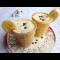 Фото Кисломолочный коктейль в вафельном стаканчике