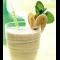 Фото Молочный коктейль с бананом и персиком