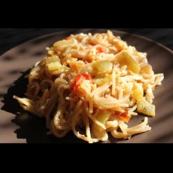 Рецепт: Жареная лапша по-азиатски