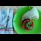 Фото Фаршированный кальмар с тар-таром из томатного конкасе