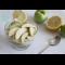 Фото Салат из яблок и груш в ванильном соусе