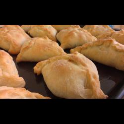 пирожки с картошкой из пресного теста