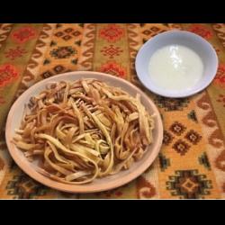 Салат с колбасой на скорую руку рецепт