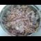 Фото Салат с куриной печенью и фасолью