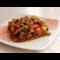 Фото Баклажаны жареные с помидором и чесноком