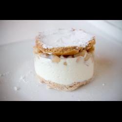 Рецепт: Итальянский десерт Рикотта с грушей
