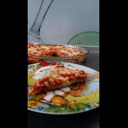Рецепт: А-ля пицца без теста
