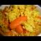 Фото Рис с морковью, куркумой и шафраном