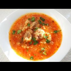 рецепты харчо с рисом