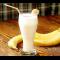Фото Молочно-банановый коктейль