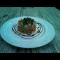 Фото Теплый салат из курицы с горчичным соусом