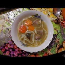 Суп из куриной печени с вермишелью рецепт