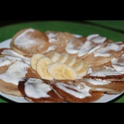 Рецепт: Банановые панкейки