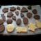 Фото Соленое печенье с овсяной и льняной мукой
