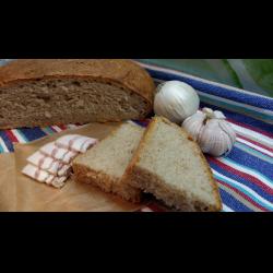 Рецепт: Хлеб с яблочным пюре и цельнозерновой мукой