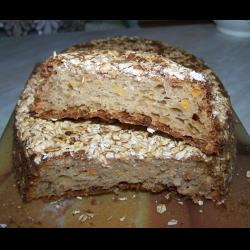 Рецепт: Яблочно-морковный хлеб