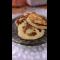 Фото Оладьи на молочной сыворотке с манкой