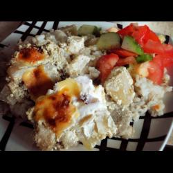Рецепт: Свинина с ананасами