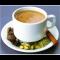 Фото Кофе черный с мускатным орехом