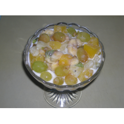 "Рецепт: Салат ""Фруктовый рай"""