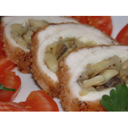 Рецепт: Рулетики из куриного филе