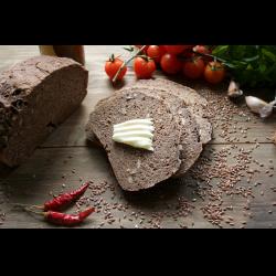 Рецепт: Льняной хлеб с семечками
