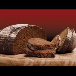 Рецепт: Хлеб ржаной на кислом молоке, бездрожжевой