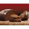 Фото Хлеб ржаной на кислом молоке, бездрожжевой