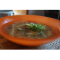 Фото Перуанский суп из киноа с красным рисом и чечевицей