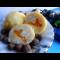"""Фото Творожно-манные шарики """"Солнышко"""" с фруктовой начинкой"""