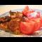 Фото Нежнейшая свиная корейка на косточке с грибным соусом