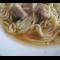 Фото Спагетти с бульоном в мультиварке