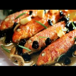 Рецепт: Запеченная барабулька