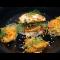 Фото Рисовый бургер с кальмарами