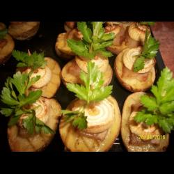 Рецепт: Картофель Лодочки