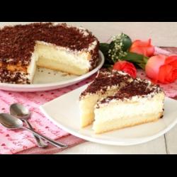 Рецепт: Бисквитный торт