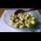 Фото Творог с яблоком, грушей и виноградом