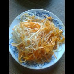 рецепт морковь с фунчозой