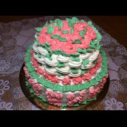 Рецепт: Торт бисквитный