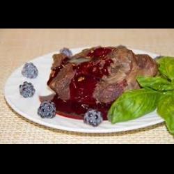 Рецепт: Ежевичный соус к мясу