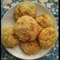 Рецепт: Творожно-кунжутное печенье