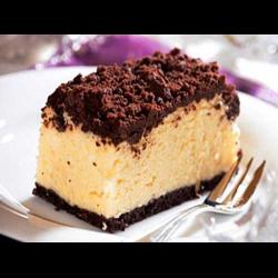 Рецепт: Творожный насыпной пирог