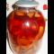 Фото Компот из черешни и сушеных яблок