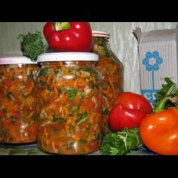 суповая заправка на зиму рецепты с фото