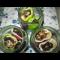 Фото Перец фаршированный баклажанами в томате