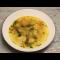 Фото Суп с галушками и красным сладким перцем
