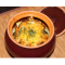 Фото Овощной гарнир под сырно-горчичным соусом в горшочках